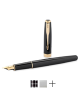 Parker Pen with Golden Trim