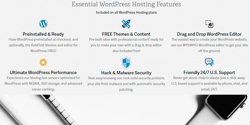 InMotion WordPress Hosting in the use