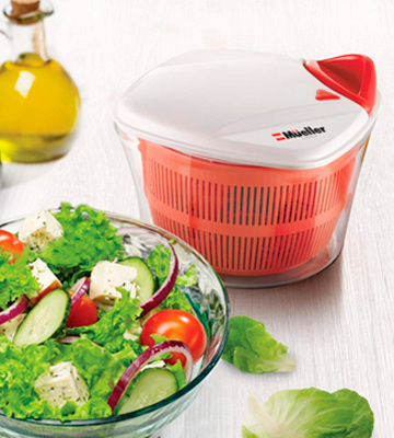 Review of Mueller Austria MU-SS Large 5L Salad Spinner
