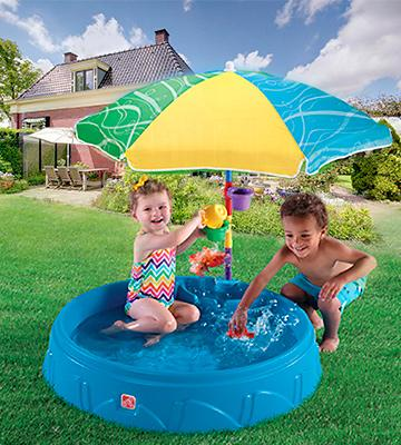 Review of Step2 Play and Shade Kiddie Pool