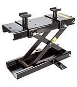 Rage Powersports Black Widow Cruiser Touring Motorcycle Jack  Lift Stand