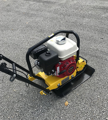Review of CORMAC C60H Plate Compactor