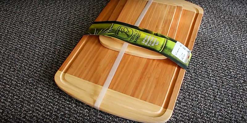 Review of Totally Bamboo 3 Piece Cutting Board Set