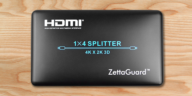 Zettaguard ZW-140 HDMI Splitter in the use