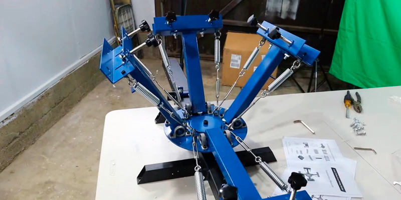 "Review of VEVOR 21.7"" x 17.7"" Screen Printing Machine"