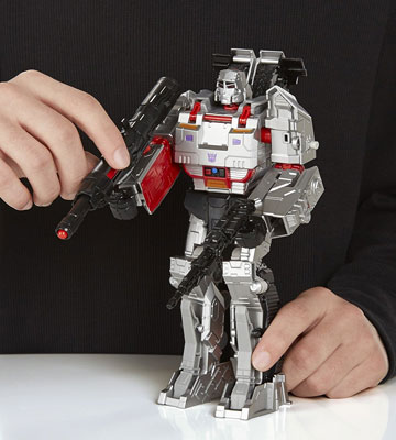 Review of Megatron Generations Combiner Wars Transformer