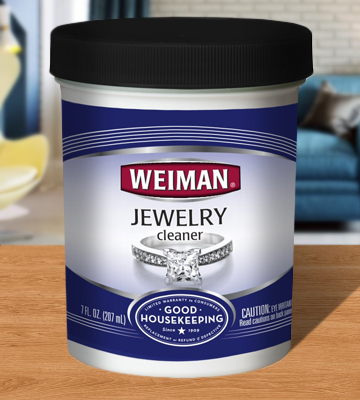 Review of Weiman Liquid 7 fl. oz. Jewelry Cleaner