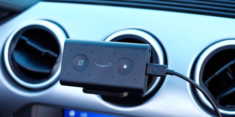 Review of ECHO Auto Hands-free Alexa in Your Car with Your Phone
