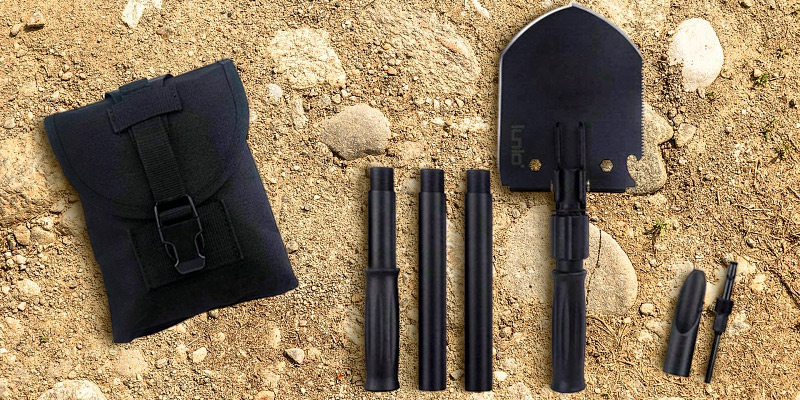 Review of IUNIO Camping Multitool Folding Shovel