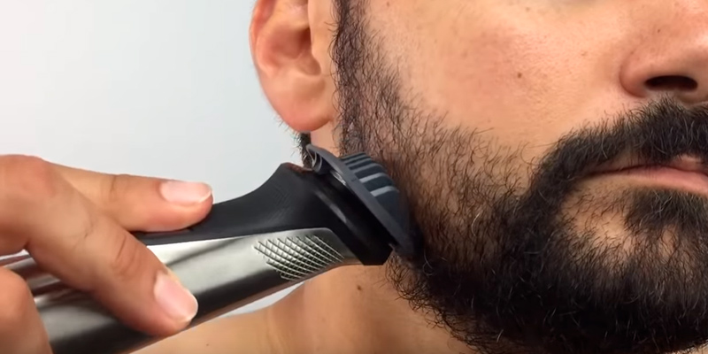 Philips Norelco MG7750/49 Multi Groomer Set (beard, body, face hair trimmer, shaver & clipper) in the use