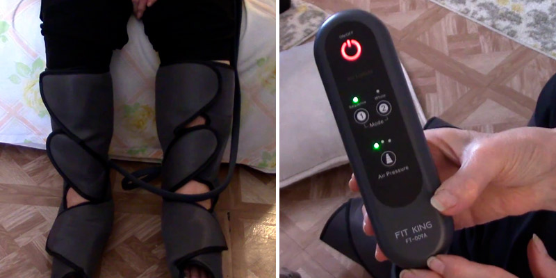 Review of FIT King Leg Air Circulation and Relaxation