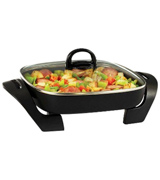 BELLA 12-inch Electric Skillet with Cool Touch Handles