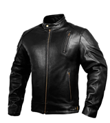 HWK Leather Mens Motorcycle Jackets
