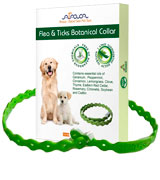 Arava Natural Active Ingredients Flea & Tick Prevention Collar