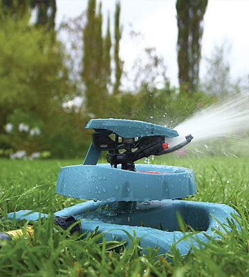 Review of Gilmour 196SPB Medium Duty Circular Sprinkler