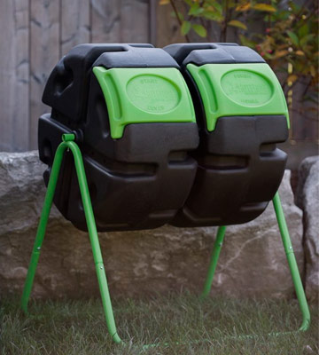 Review of FCMP Outdoor Dual Body Tumbling Composter