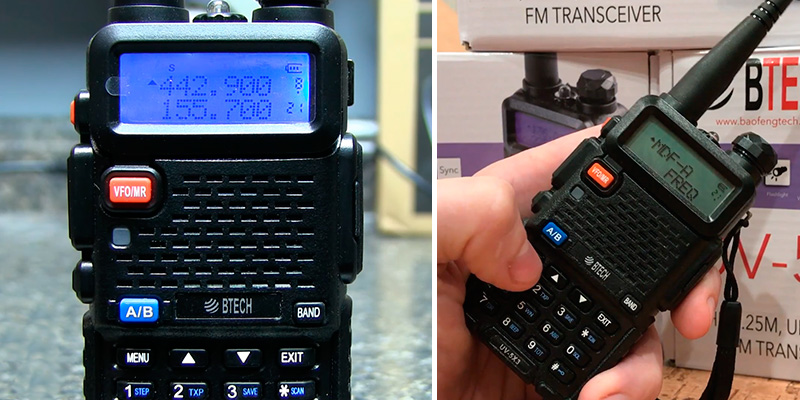 Review of BTECH UV-5X3 Tri-Band Amateur (Ham) Radio