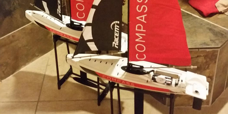 POCO DIVO Compass RG65 Class Competition Sailboat RC application