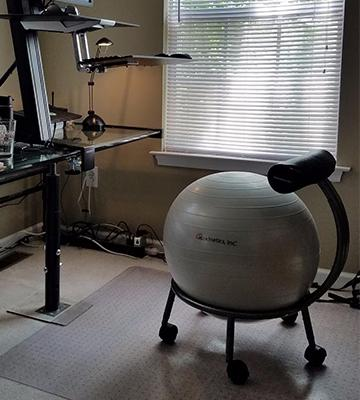 Review of Isokinetics Fitness Ball Chair