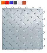 Speedway Garage Tile 789453S25 Interlocking Garage Flooring 6 LOCK Diamond Tile (25 pack)