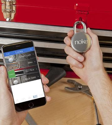 Review of Noke FNAPS Keyless Bluetooth