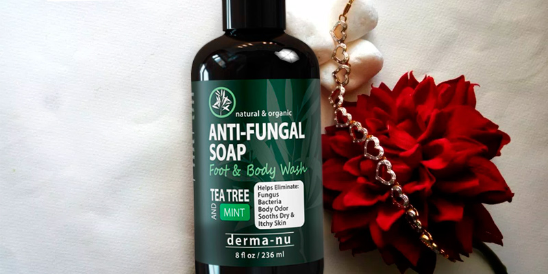 Review of Derma-nu Miracle Skin Remedies Anti-fungal Soap & Body Wash Antibacterial, Natural Fungal Treatment with Tea Tree Oil