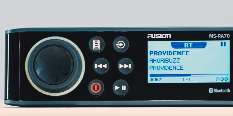 Fusion MS-RA70 Wireless Control in the use