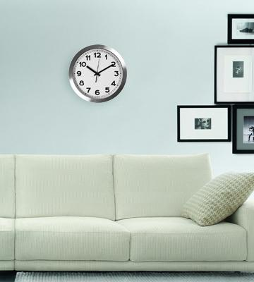 Review of Utopia Home Universal Non-Ticking Wall Clock