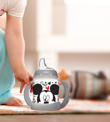 Review of NUK Disney Learner Mickey Mouse Sippy Cup