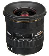 Sigma 10-20mm f/4-5.6 EX DC HSM Wide Angle Lens