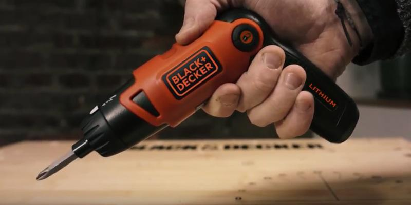 Review of BLACK+DECKER LI2000 3-Position Rechargeable Screwdriver