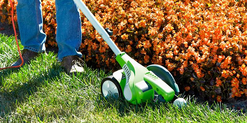 Review of GreenWorks 27032 12 Amp Walk Behind Edger
