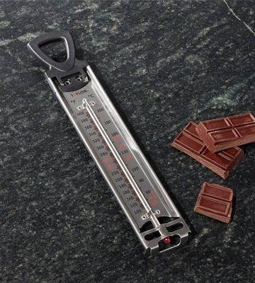 Review of Taylor 8-inch Candy/Deep Fry Stainless Steel Thermometer