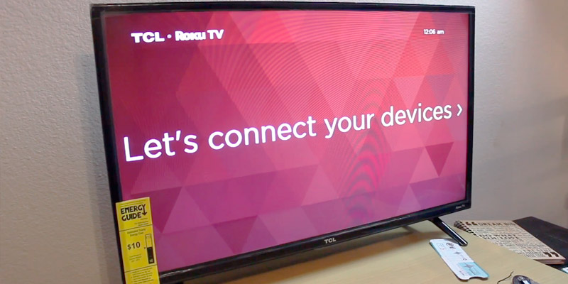 TCL 32S327 32-Inch 1080p in the use