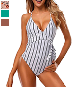 CUPSHE Women's Stay Young One Piece Swimsuit