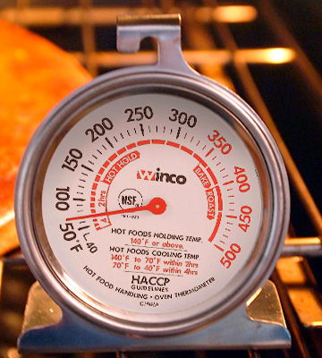 Review of Winco TMT-OV3 Dial Oven Thermometer