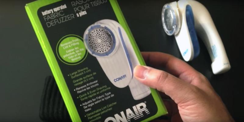 Detailed review of Conair Battery Operated Fabric Defuzzer - Shaver