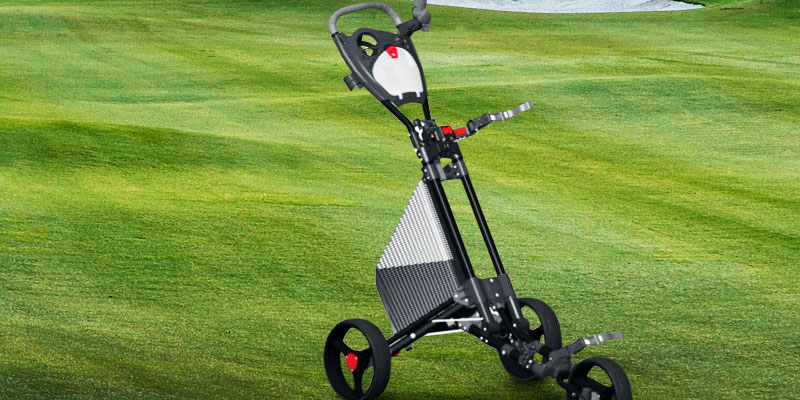 Review of Spin It Golf Products GCPro II Push Golf Cart