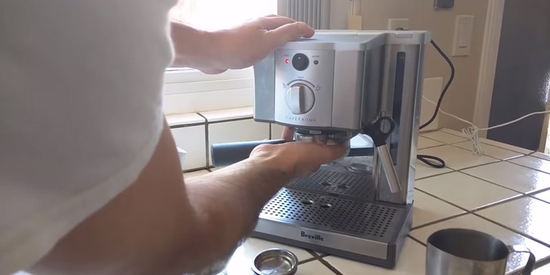 Review of Brevile ESP8XL Cafe Roma Stainless Espresso Maker
