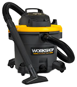 WORKSHOP WS1600VA 16 Gallon 6.5 Peak HP Shop Vacuum Cleaner