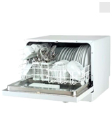 Sunpentown Countertop Dishwasher, Silver