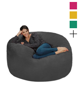 Chill Sack AMZ-5SK-MS03 Giant 5' Memory Foam Bean Bag Sofa