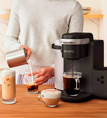Review of Keurig K-Cafe Single-Serve K-Cup Coffee Maker, Latte Maker and Cappuccino Maker