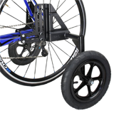 CyclingDeal 20-29 Adjustable Adult Bicycle Bike Training Wheels