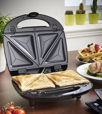 Review of ZZ S61421 Sandwich and Waffle Maker