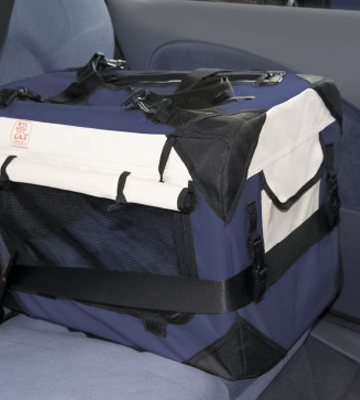 Review of PetLuv DC-N Premium Soft Sided Cat Carrier & Travel Crate