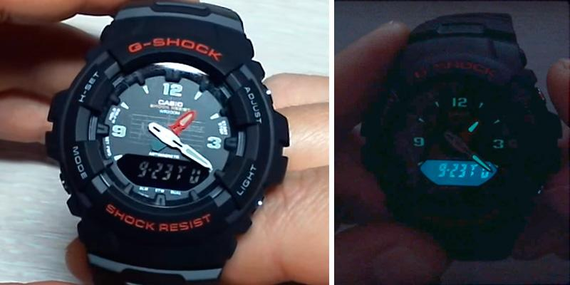 Casio Men's G-Shock Classic Analog-Digital Watch in the use