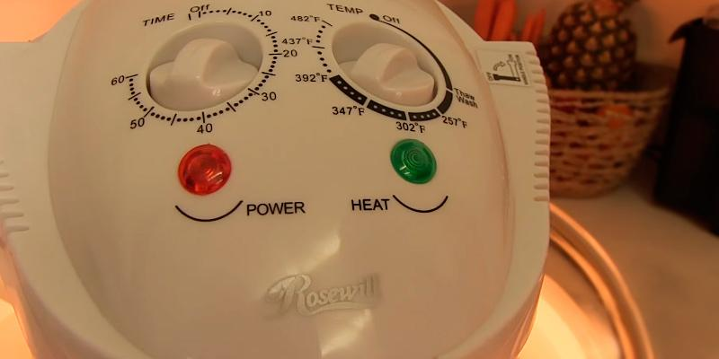 Rosewill R-HCO-15001 Infrared Halogen Convection Oven in the use