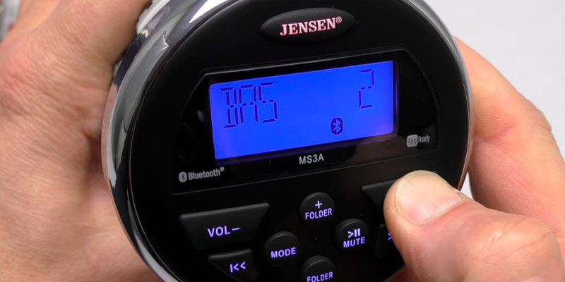 Review of Jensen MS3ARTL Waterproof Stereo with App Control