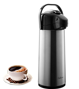 Bellemain Liter Airpot Coffee Dispenser with Pump